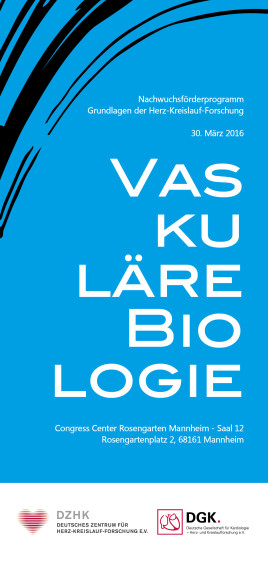 Vasculäre Biologie_Flyer_Titelseite